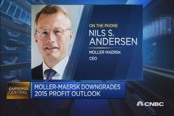 Most trading areas are very quiet: Maersk