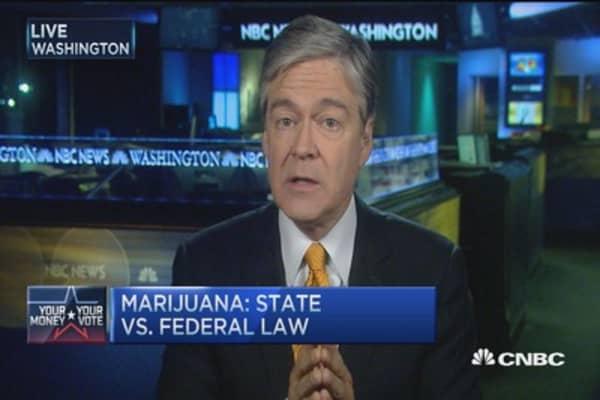 GOP debate it: Marijuana