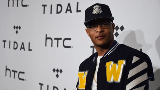 "Rapper Clifford ""T.I."" Harris"