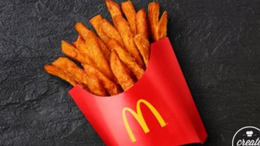 McDonald's sweet potato fries.