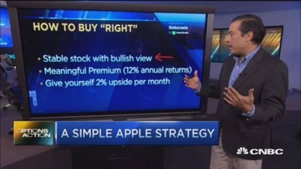 A simple but brilliant Apple trade