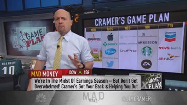 Cramer's game plan: Apple could get a bruising