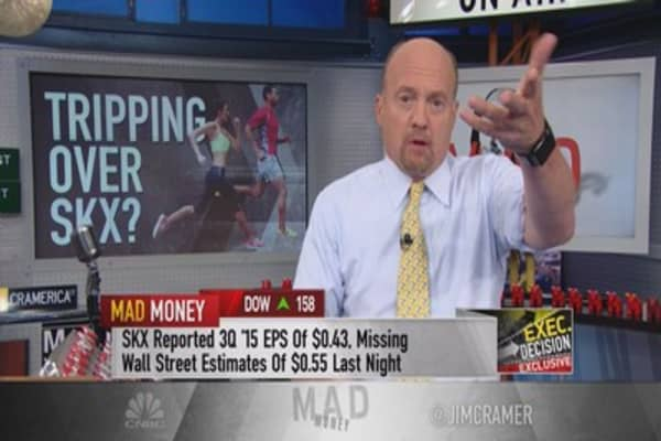 Skechers exec to Cramer: We will double in 5 years