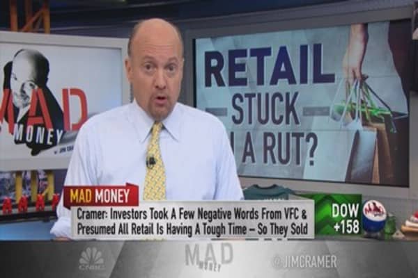 Cramer: The one stock that took down all of retail