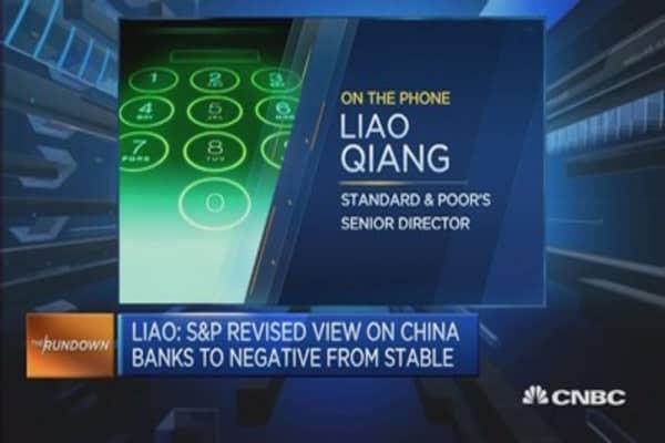 No fundamental improvements in China:S&P