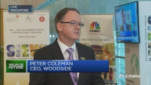 Woodside CEO: We're well positioned for oil downturn