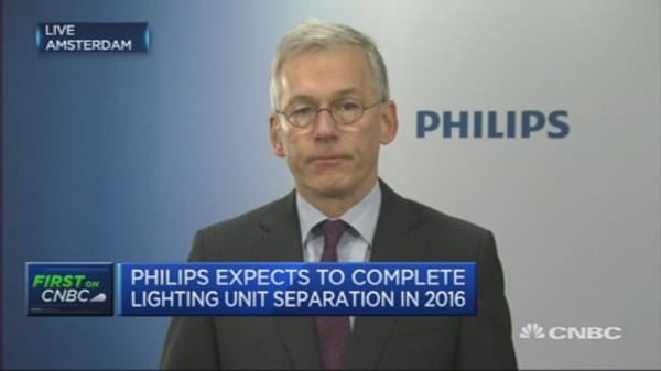 Time needed for EM growth recovery: Philips CEO