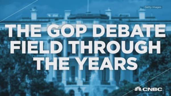 Five years of interviews with the CNBC GOP debate field
