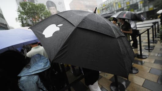 Apple umbrella