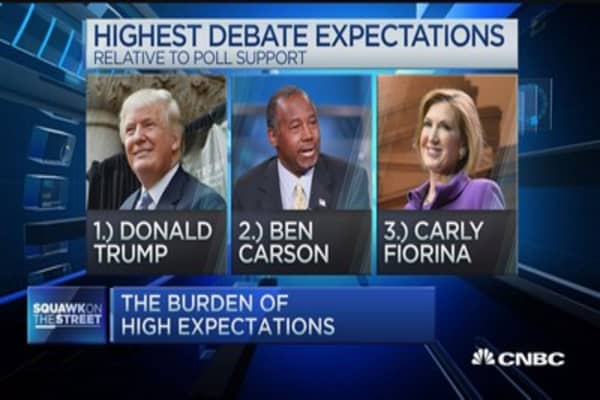 Could Trump win the GOP debate?