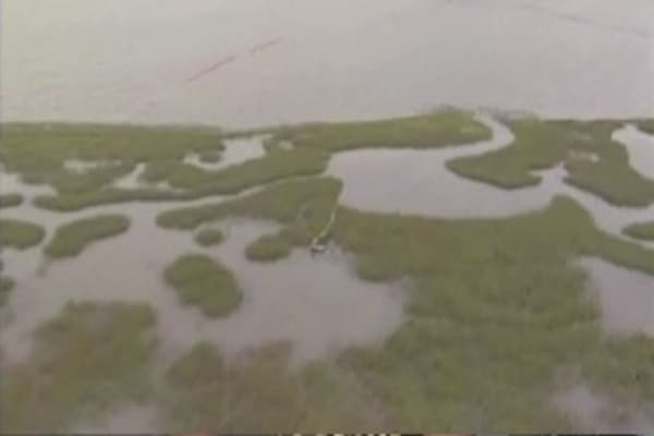 Gulf Coast under water