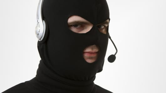 Thief scam mask headphone