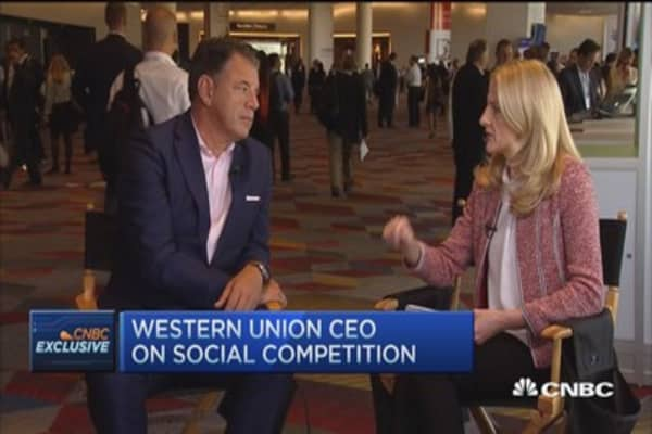 The future of money transfers: Western Union CEO