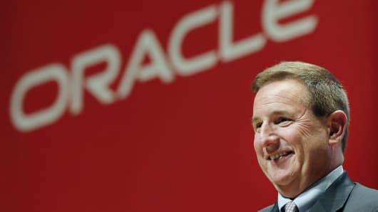 Oracle CEO Mark Hurd in 2015.