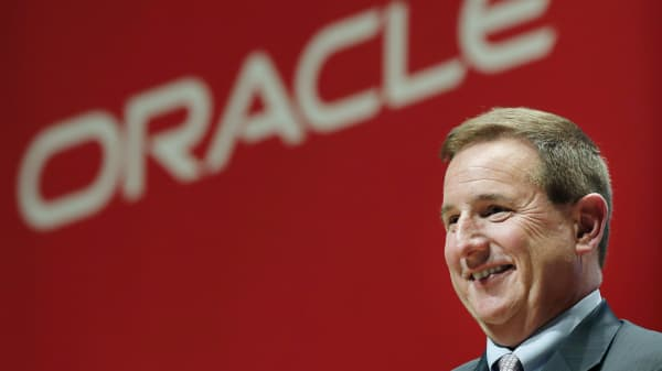 Oracle CEO Mark Hurd in 2015.