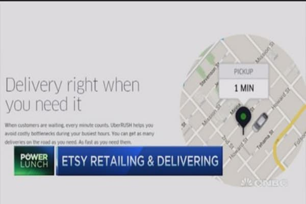 Etsy launches same-day delivery