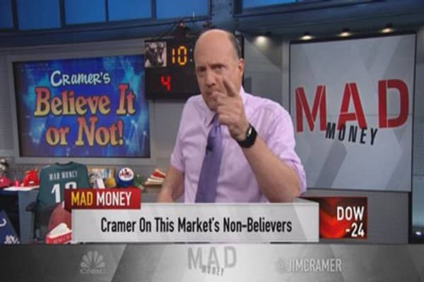 Cramer: Believe it or not, they're screaming buys