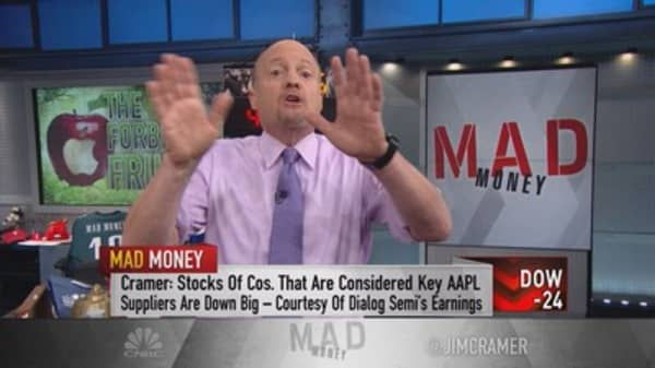 Cramer: Maximizing your bet on Apple earnings