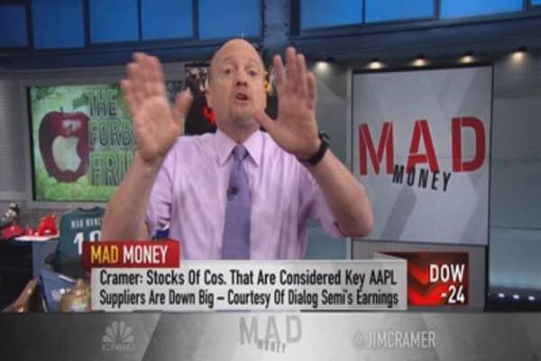 Cramer: Maximizing your bet on Apple earnings