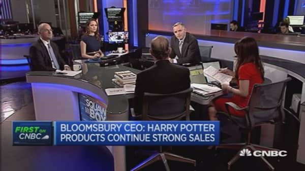 There is no fight with Amazon: Bloomsbury CEO