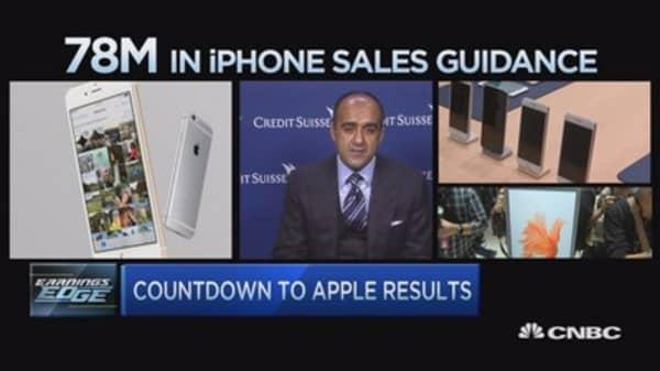 Earnings Edge: Apple