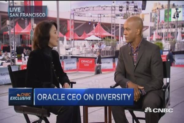 Oracle's Catz: Tech's gender barriers are crumbling