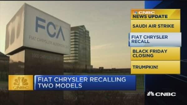 CNBC update: Fiat Chrysler recall