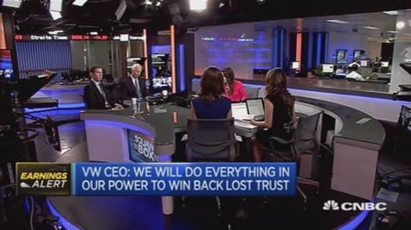 Volkswagen reports $3.8 billion loss
