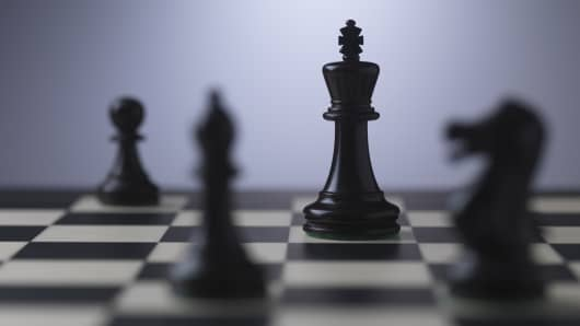 Chess pieces strategy