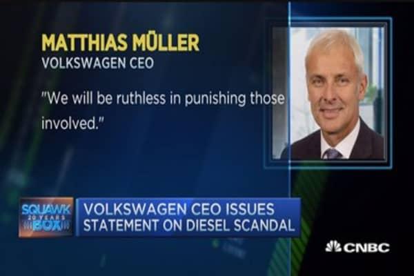 Volkswagen emission scandal slams profits