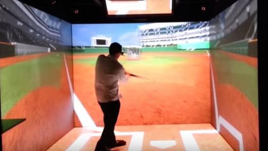 Jason Giambi Helps Baseball Practice Go Virtual