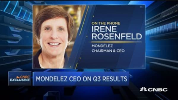 Mondelez CEO: Another solid quarter