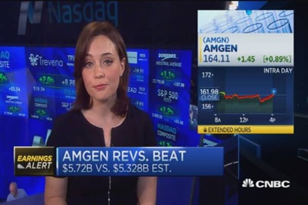 Amgen's big beat & raise
