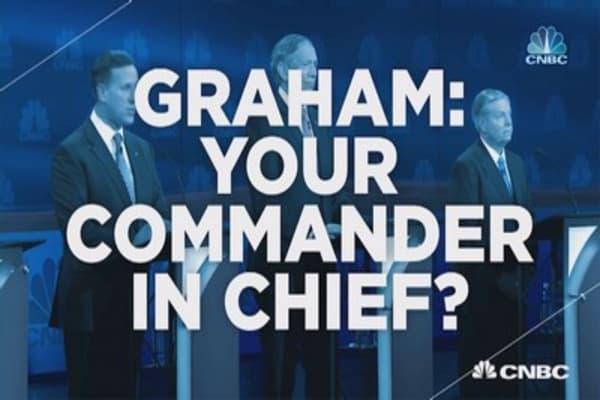 Sen. Graham: 'Make me Commander-in-Chief'