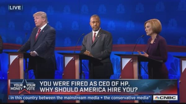 Board fired you, why should we hire you now? Fiorina answers