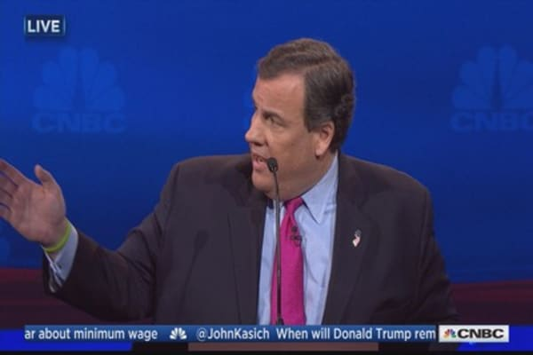 Christie: I'll make justice more than just a word
