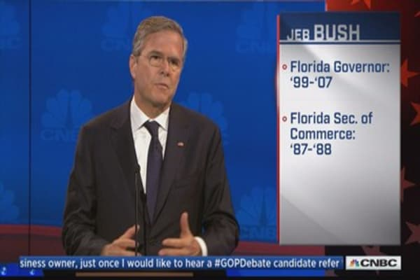 Jeb Bush: Find a Dem for cutting spending $10, I'll give em a warm kiss