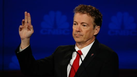 GOP Republican Candidate Rand Paul
