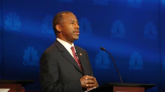 GOP Republican Candidate Ben Carson