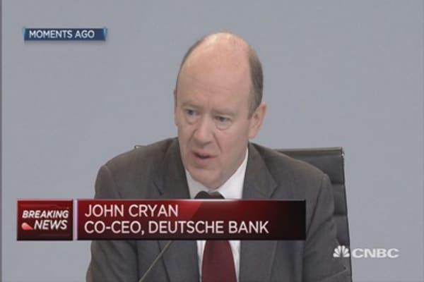 Can Deutsche Bank's deliver on cost cuts?