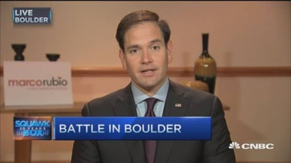 Sen. Rubio: Need more deep policy questions