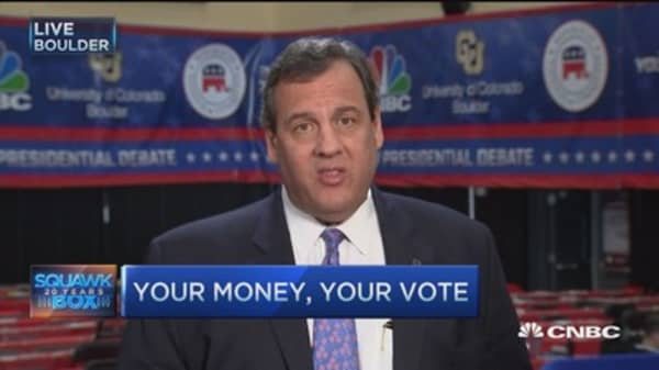 Gov. Christie: I'm tested, ready and mature