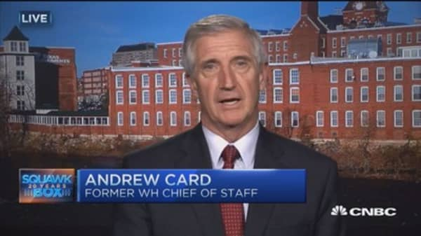 Debate not a game changer: Andrew Card