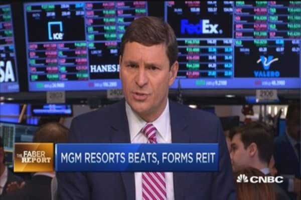 Faber Report: MGM forms REIT