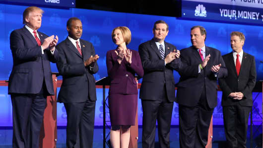 CNBC GOP Debate