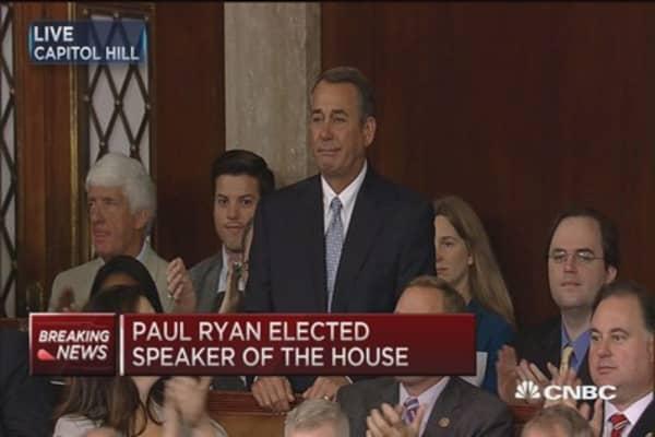House honors Speaker Boehner