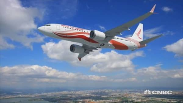 Boeing and Airbus batle for China