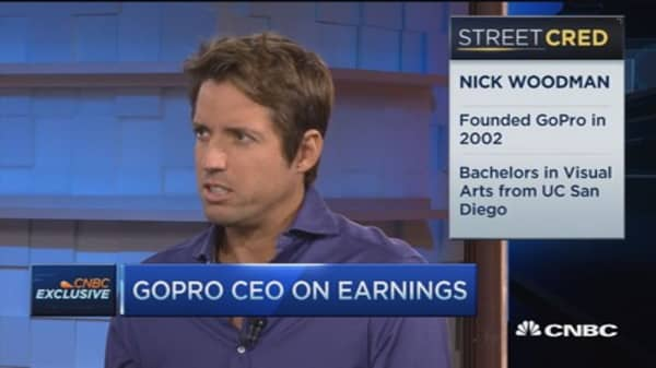 GoPro CEO: Quarter still terrific, grew 43% YOY