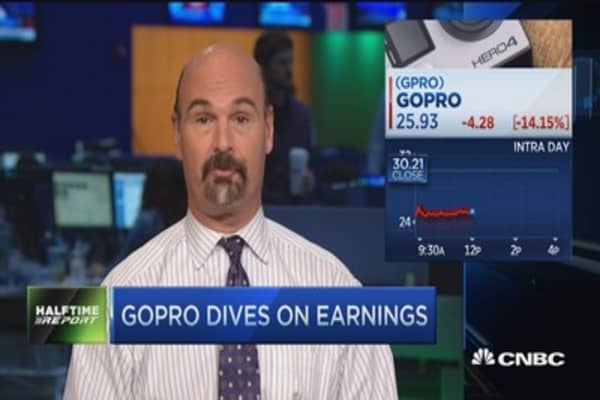 Trader buys GoPro after earnings