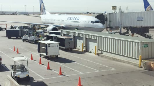 Denver Airport United Airlines